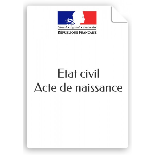e24363e176083 ACTE DE NAISSANCE - Mairie de la Plaine des Palmistes